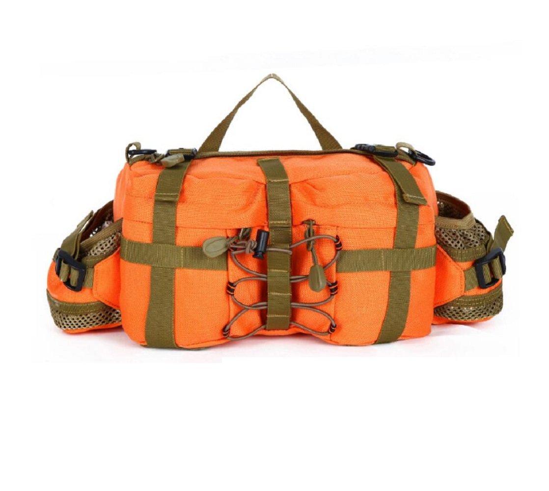 LJ&L Outdoor 6L Kapazität Tarnung Camping Ausrüstung Taschen, multifunktionale taktische Outdoor Wandertaschen, Nylon langlebige Verschleißtaschen