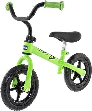 Oferta amazon: Chicco Bicicleta sin Pedales First Bike para Niños de 2 a 5 Años, Bici para Aprender a Mantener el Equilibrio con Manillar y Sillín Ajustables, Verde - Juguetes para Niños de 2 a 5 Años