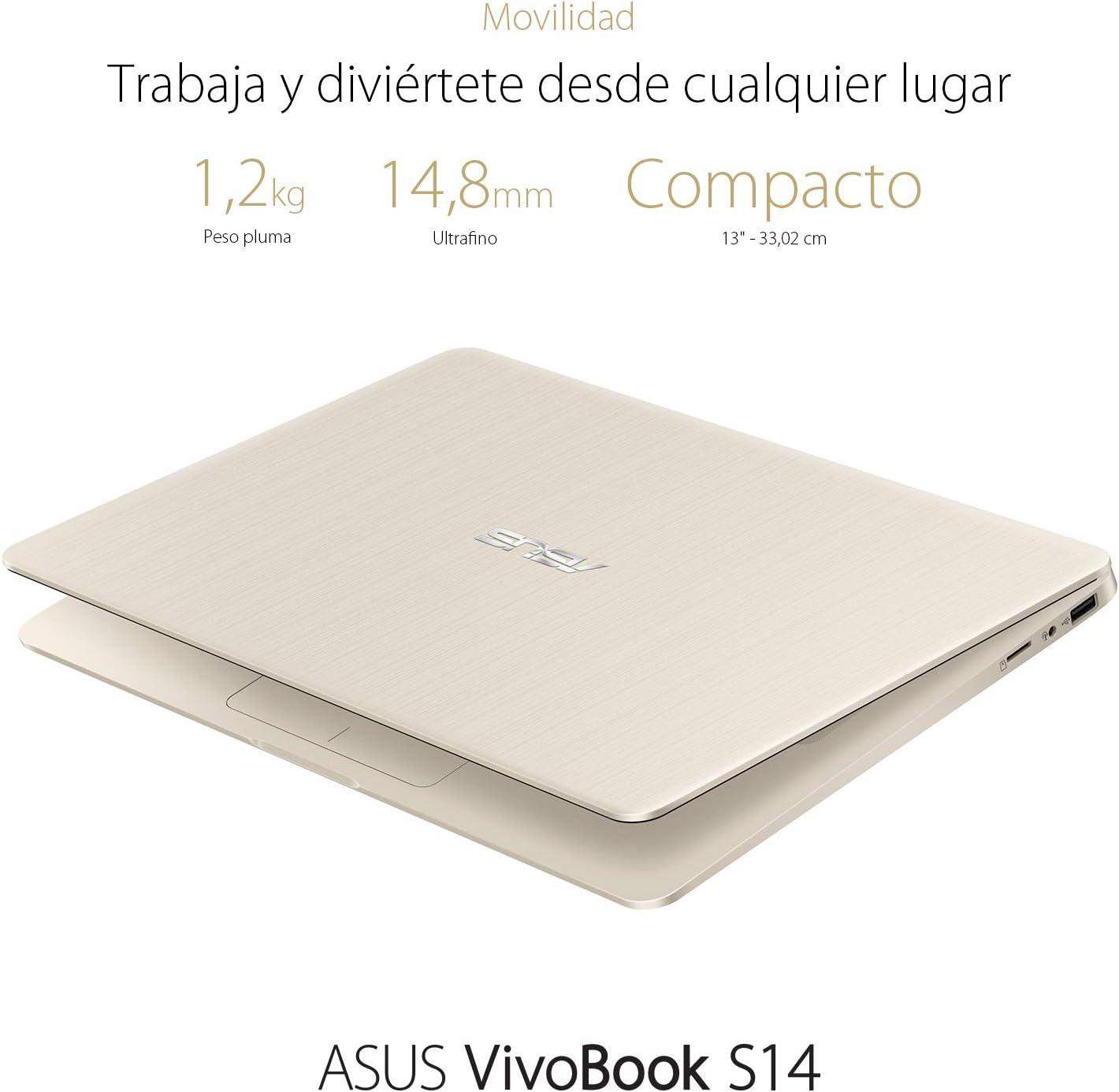 ASUS VivoBook S14 S406UA-BV121T - Ordenador portátil de 14