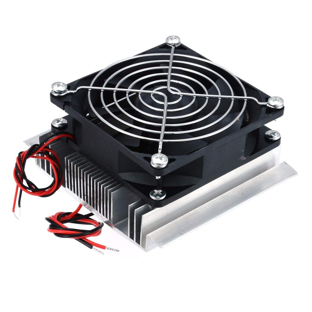 TOYECOTA 1pc Thermoelectric Pelr Refrigeration Cooler DC 12V Semiconductor Air Conditioner Cooling System DIY Kit