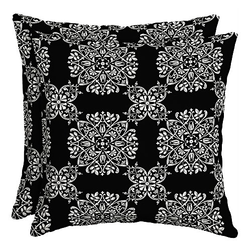 Better Homes and Gardens Bailey Medallion Outdoor Toss Pillow - Set of 2