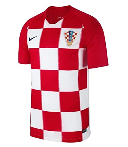 Nike 2018-2019 Croatia Home Football Soccer T-Shirt Jersey (Kids)