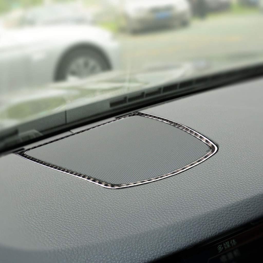 Radio CD Panel Dashboard Frame Cover Trim 5ZK2 Carbon Fiber Dashboard Interior Decoration Decal Frame Cover Trim Sticker for BMW 5 Series F10 F11 F07 F18 2011-2017 RRX