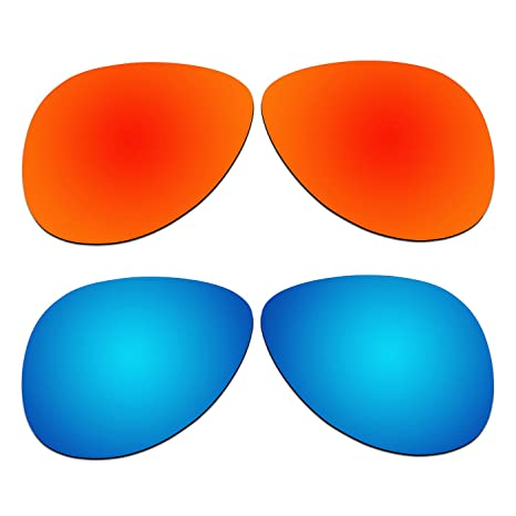 35442b36e1 Image Unavailable. Image not available for. Color  ACOMPATIBLE 2 Pair Replacement  Polarized Lenses for Oakley Elmont ...