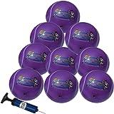 Pack de 10 Balles de Tennis Gonflables Galaxy Violette