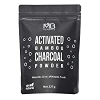 MB Herbals Activated Bamboo Charcoal Powder 227g | 8 oz | Deep Cleanses & Detoxifies...