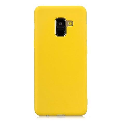 coque samsung a8 2018 couleur pastel