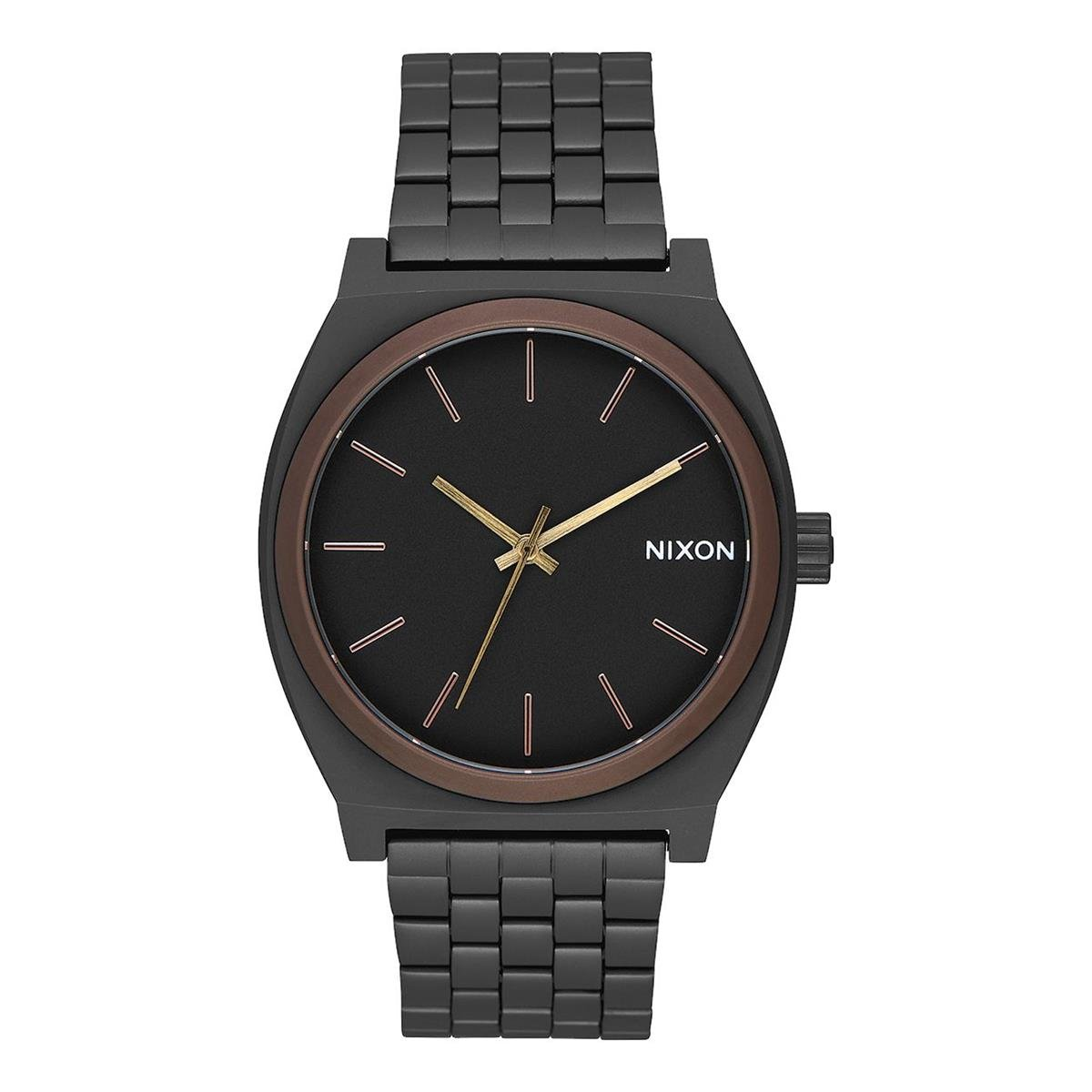 Nixon Reloj Analogico para Hombre de Cuarzo con Correa en Acero Inoxidable A045-2786-00