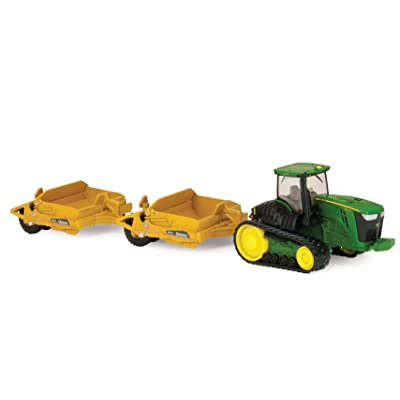 Ertl Collectibles John Deere 9560RT Tractor with Scrapers: Toys & Games