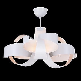Design LED Deckenleuchte KARIBIKA Modern Wohnzimmerlampe Kche Kronleuchter 5 Jahre Garantie