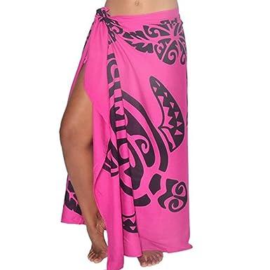 a418ff52eb03a Sixcup Sexy Women Leaf Print Sunscreen Shawl Beach Bikini Swimwear Wrap  Coverup Skirt Swimsuit Pareo Sarong