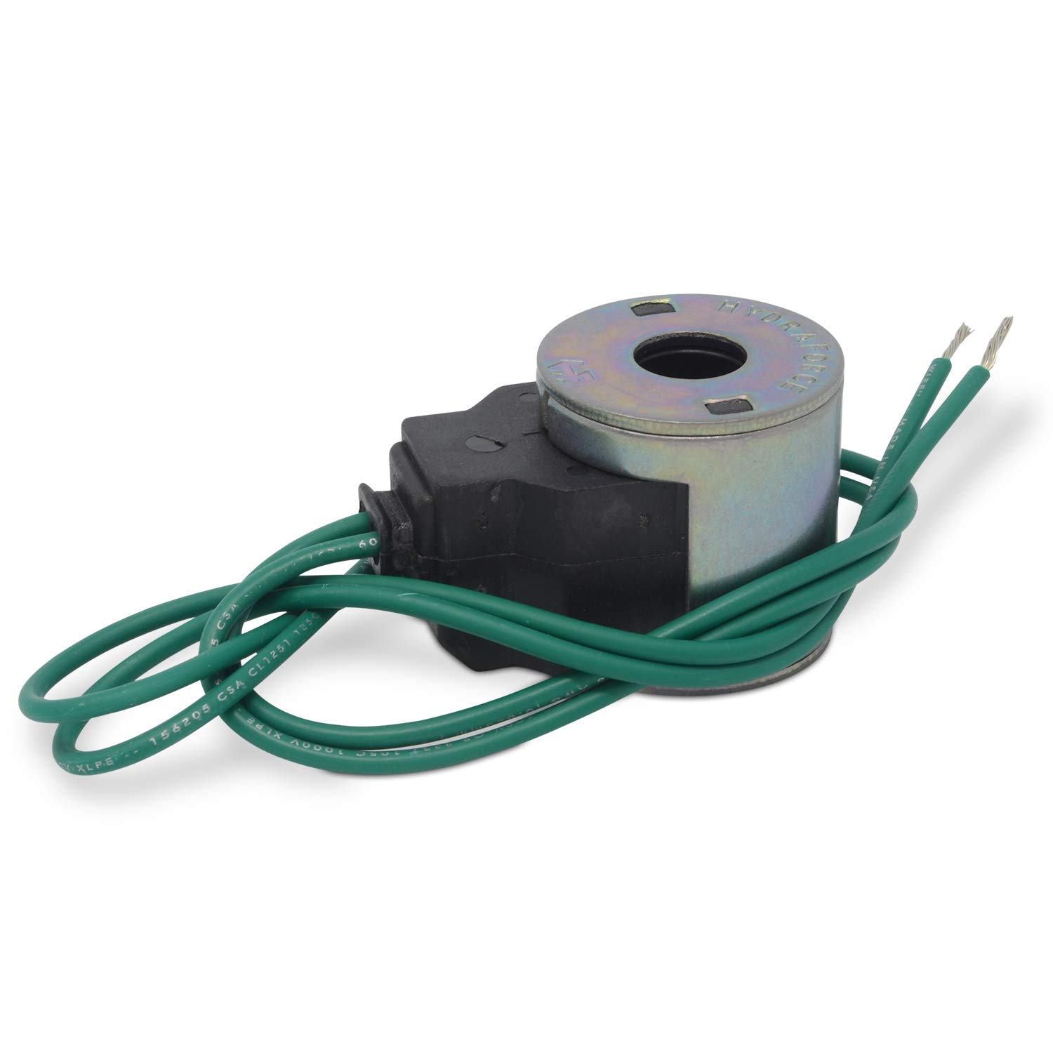 Dual Wire Leads 12v DC HydraForce 4305112 Solenoid Valve Coil 08 Series