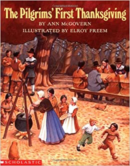 Image result for the pilgrim's first thanksgiving by mcgovern