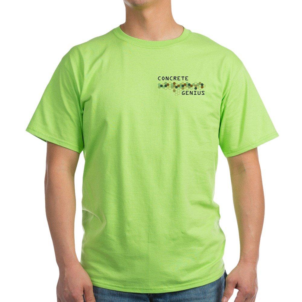 CafePress Concrete Genius 100/% Cotton T-Shirt