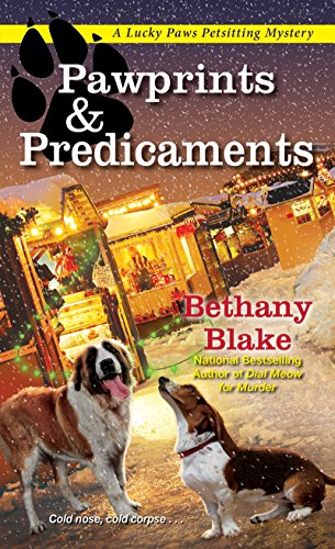 Pawprints & Predicaments (Lucky Paws Petsitting Mystery) -
