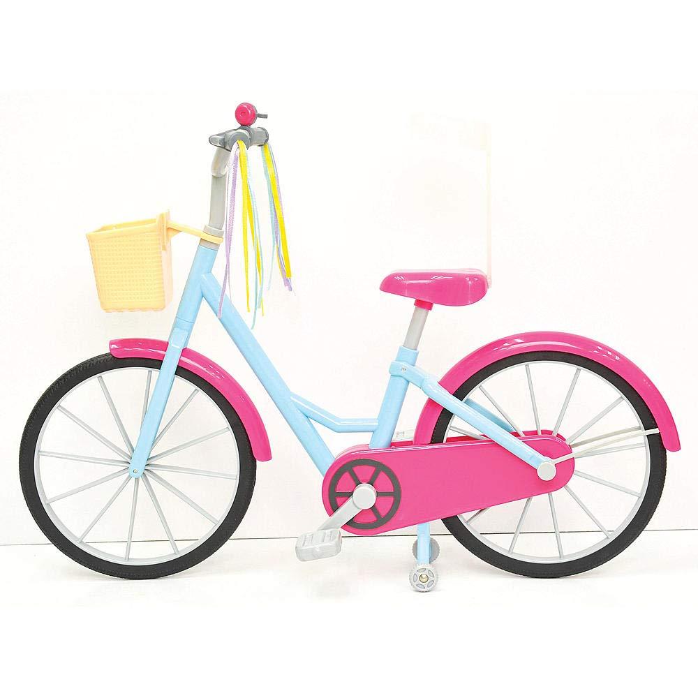 LOTUS ONDA Dolls Accessories for 18 Doll Bicycle LTD. Pink LOTUS ONDA INDUSTRIAL CO