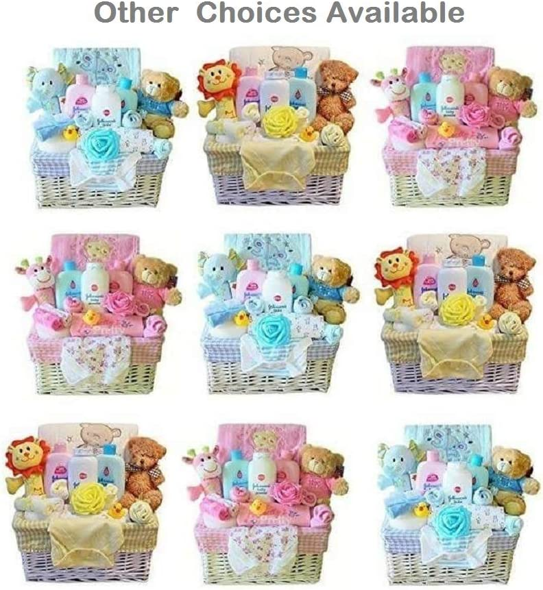 Luxury Baby Gift Basket for a Boy