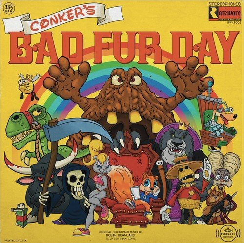 Price comparison product image Conkers Bad Fur Day