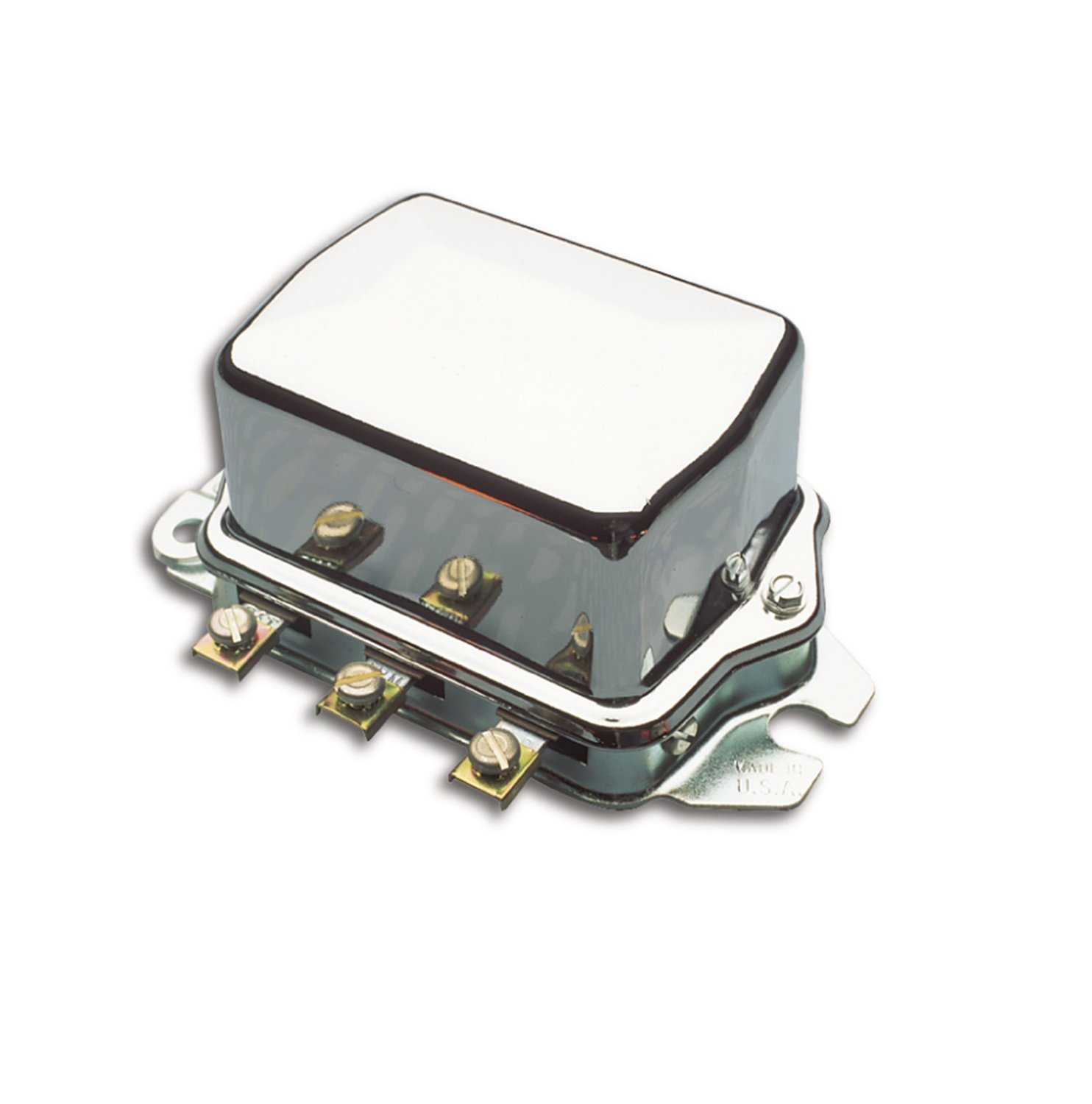 ACCEL 201105C Chrome Electro Mechanical Voltage Regulator by ACCEL