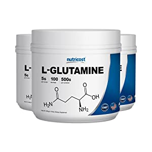 Nutricost L-Glutamine Powder