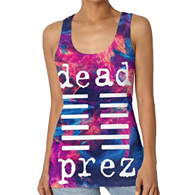 Daniel Daniels Dead Prez Women Yoga Workout Sleeveless Shirt ...