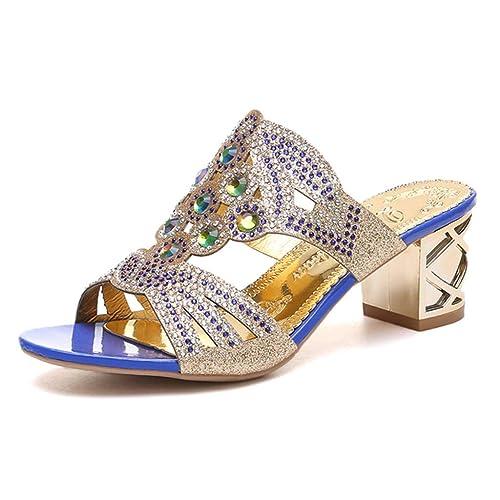 shoes Gros Magiyard Talons À Sandales Ornementées PuZikX