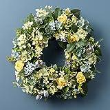 RAZ Imports Spring Easter 24'' Hydrangea Wreath