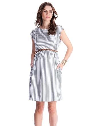 d3f4d1d170e29 Amazon.com: Seraphine Women's Cotton Stripe Maternity & Nursing ...