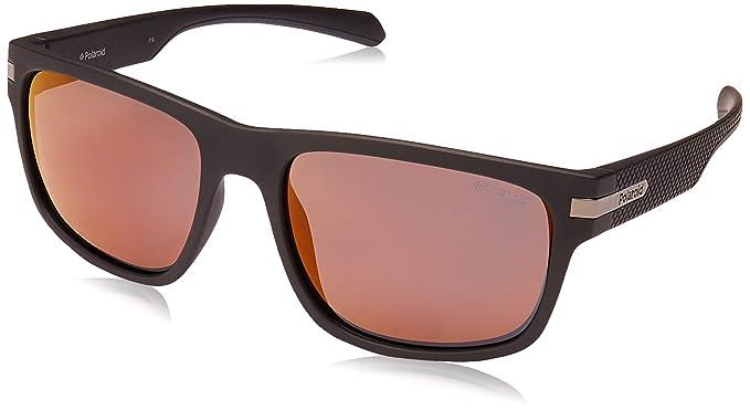 Polaroid PLD 2066/S Gafas de Sol, Multicolor (Mtt Black), 56 para Hombre