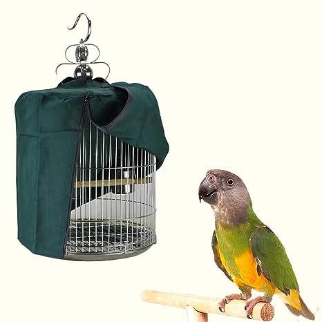 AZXAZ - Funda para Jaula de pájaros, Redonda, de Nailon, con ...