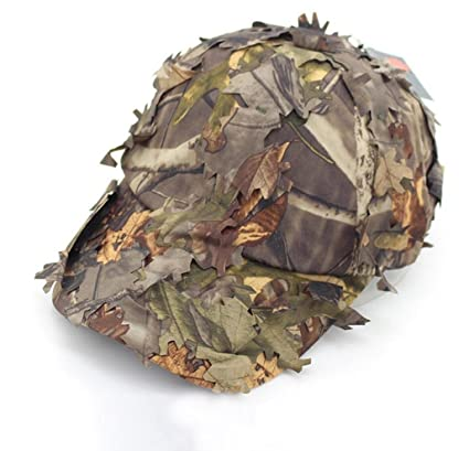 Oarea Airsoft Tactical Woodland Leaves Camo Sniper Boonie Hats Military for  Men Camouflage Breathable Hunting Sunshade Baseball Caps  Amazon.co.uk   Sports   ... f9a36c25f851