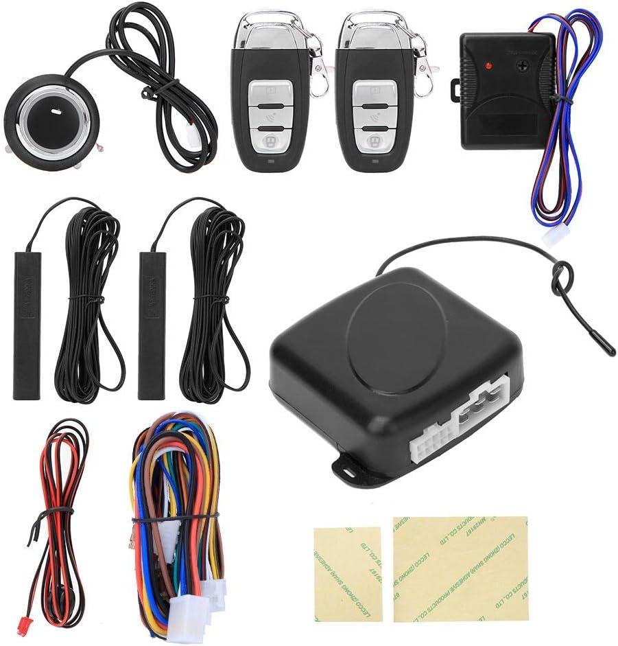 KIMISS ABS Alarma de coche PKE Inducción remota Antirrobo ...