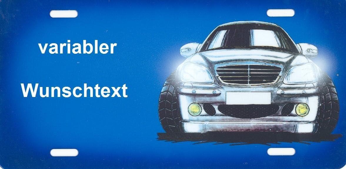 Nummernschild Und Namensschild Mercedes Daimler Benz Comic Selbst Gestalten Und Bedrucken Lassen Witterungsbeständig Vielfarbig Ideale Geschenkidee Individuelles Aluminium Schild Autoschild Mit Namen Spruch Beschriften Aluschild Kfz