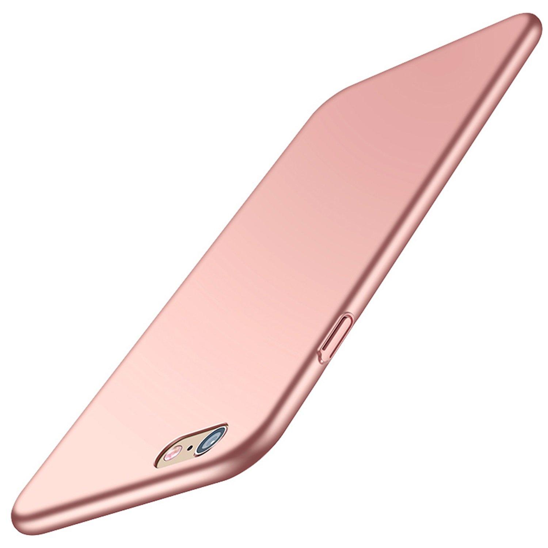 Coque iPhone 6S, Aostar iPhone 6 6S Case Cover Ultra Mince Coussin d'Air PC solide Housse Etui Coque de Protection avec Anti-choc et Anti-Scratch Bumper Cover pour iPhone 6/6S 4.7 pouces SJK-I6PCX
