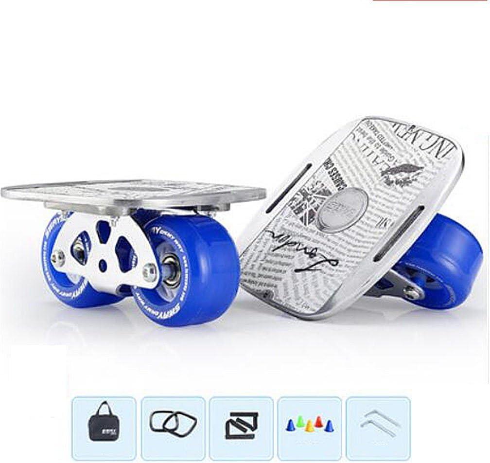 フリーラインフラッシュドリフトスケートハイエンドベアリングラグジュアリーペダルスポーツポータブルスケートボードアウトドア用 白い