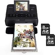 Impressora fotográfica Canon Selphy CP1300 c/Wi-Fi + 2 cartões SD 8GB