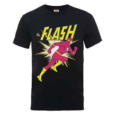 c12f7027e DC Comics - The Flash - Camiseta de Manga Corta - para niño  Amazon.es   Ropa y accesorios