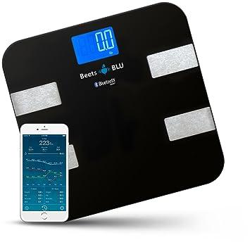 Escali Bath BF180 Slim Bathroom Scale, Black