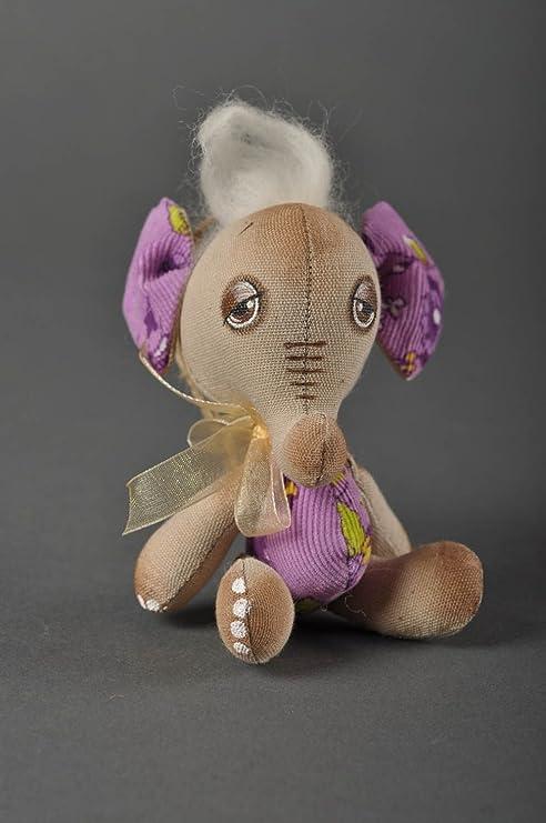 Muneco de tela hecho a mano peluche original estiloso bonito juguete para ninos