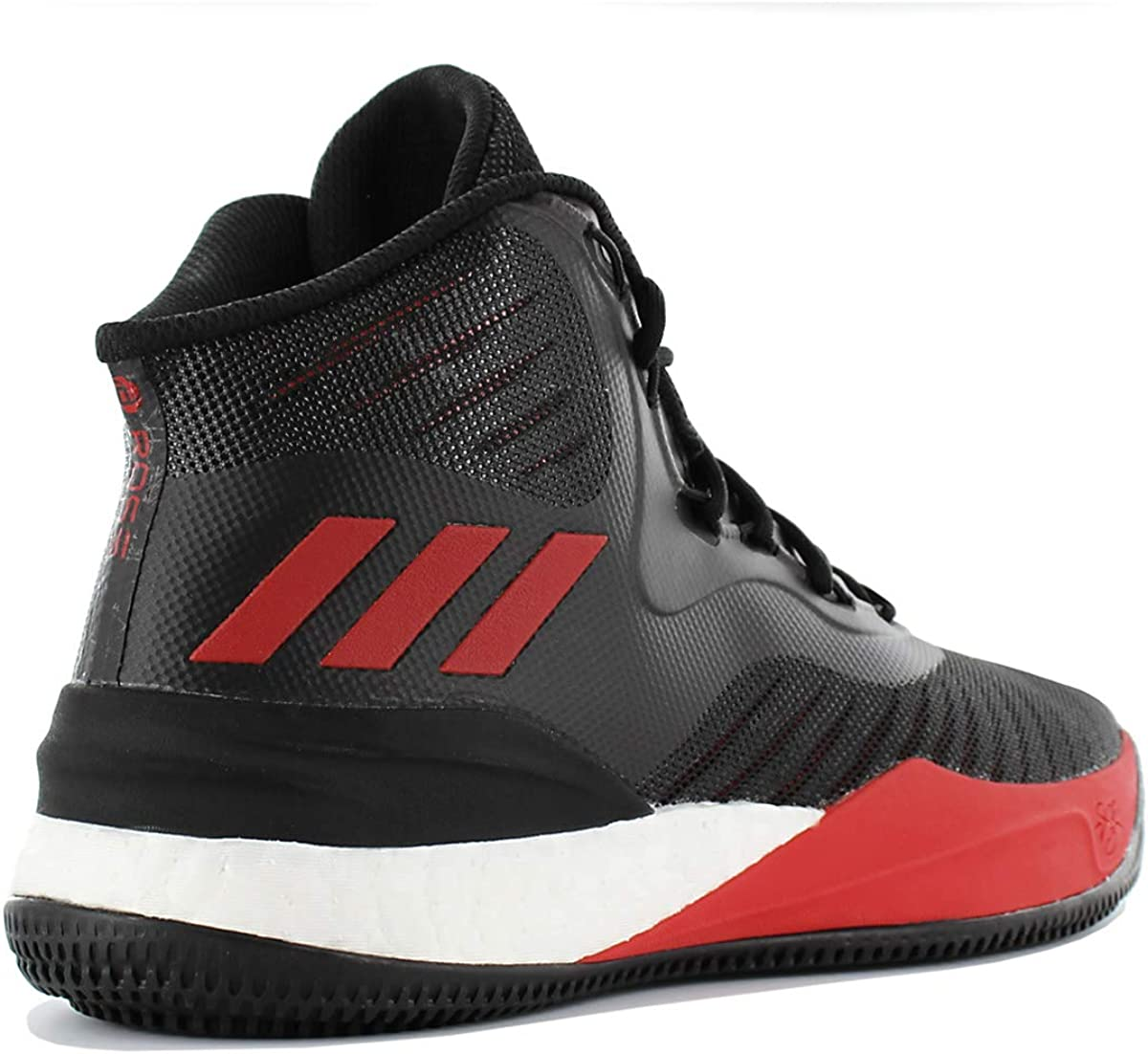 adidas D Rose 8, Chaussures de Fitness Homme Multicolore Negbas Escarl Ftwbla