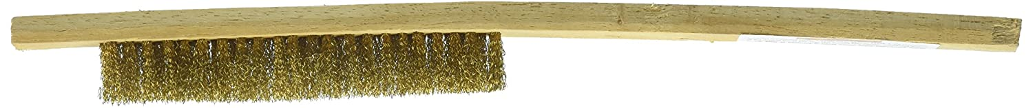 SE 7653WB Soft Brass Bristol Brush, 9.5' 9.5