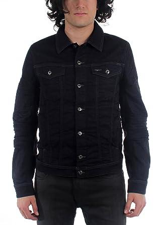 b1b6df09 Amazon.com: Diesel - Mens Elshar-Ne Giacca Denim Jacket: Clothing