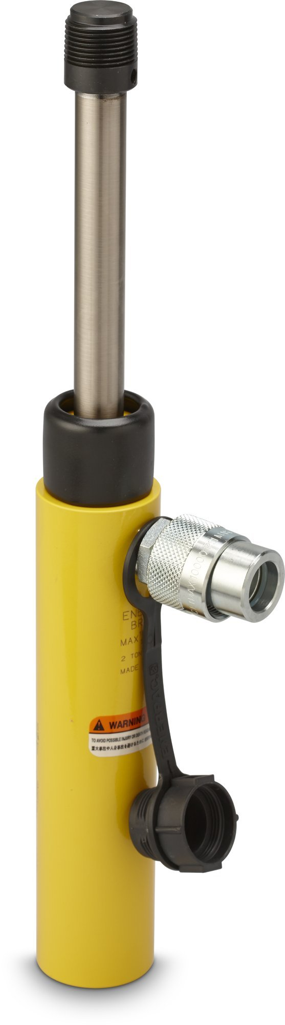 Enerpac BRC-25 Hydraulic Pull Cylinder with 2.5-Ton Capacity, Single Port, 5'' Stroke Length