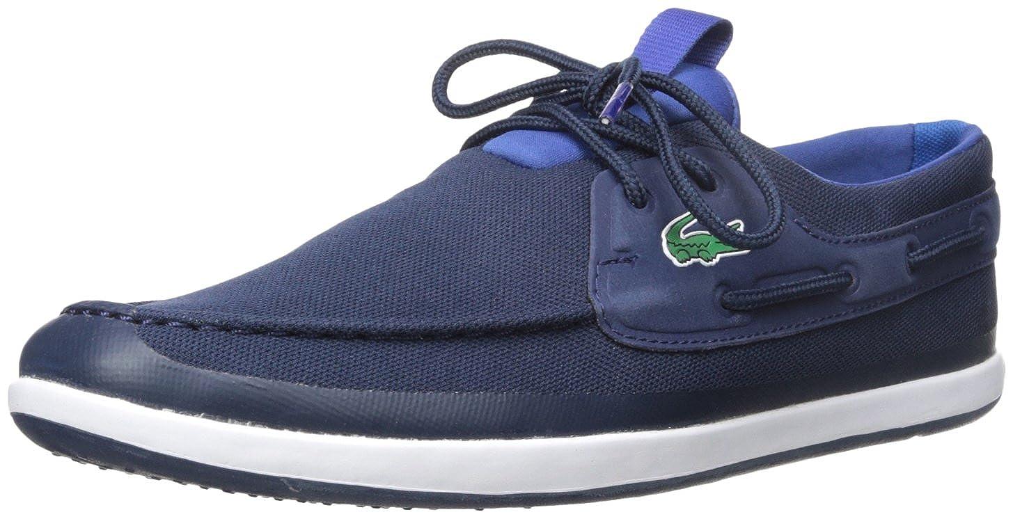 reputable site fef5a ebf22 Amazon.com   Lacoste Men s L.andsailing 316 3 Spm Boat Shoe   Fashion  Sneakers