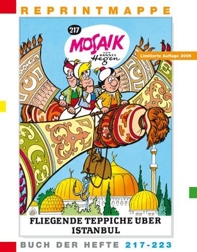 Reprintmappe Des Mosaik Von Hannes Hegen  Buch Der Hefte 217 Bis 223 Und Eine DVD  Ritter Runkels Grosse Stunde  Freilichtbühne Bautzen
