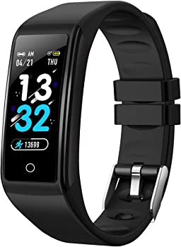 Viclover Smart Pedometer Fitness Watch with Heart Rate Sleep Monitor