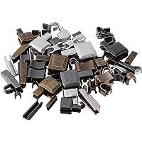 EXCEART 24 Set Maat 3/5/8/10 Metalen Rits Klink Slider Rits Onderkant Rits Stopper Rits Retainer Inbrengen Pin Rits…
