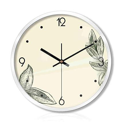 95320218064a Amazon.com  C Q CQ Clock Wall Clock Living Room Bedroom Silent ...