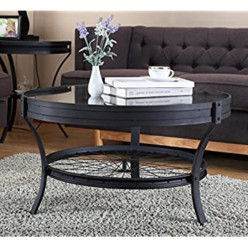 Amazon Com Winsome Wood Round Coffee Table Espresso
