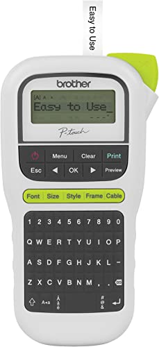 Brother P-touch PTH110 Easy Portable Label Maker